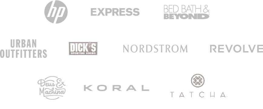 BRANDS WE PARTNER WITH